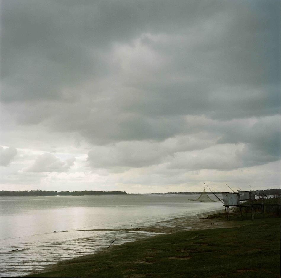 L'estuaire de la Gironde depuis le port de Lamarque